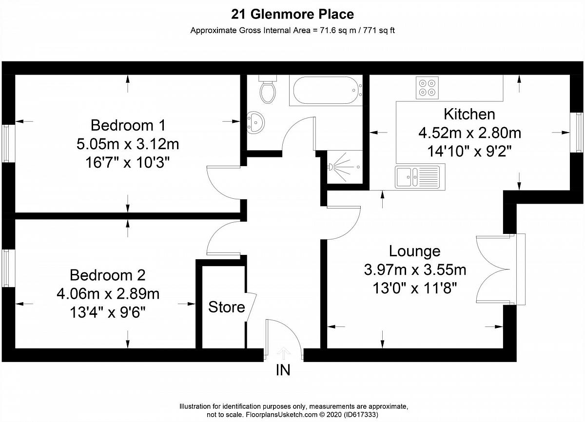 Apartment 21 Glenmore Place