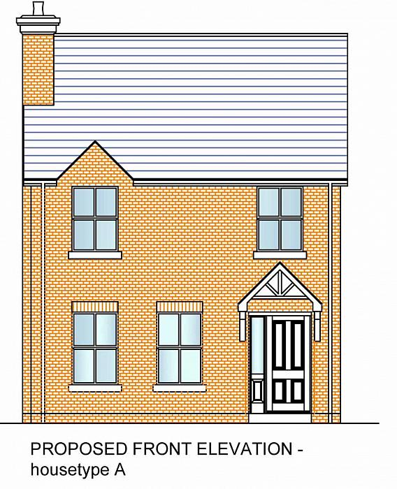New Build Detached Stoneyford Road