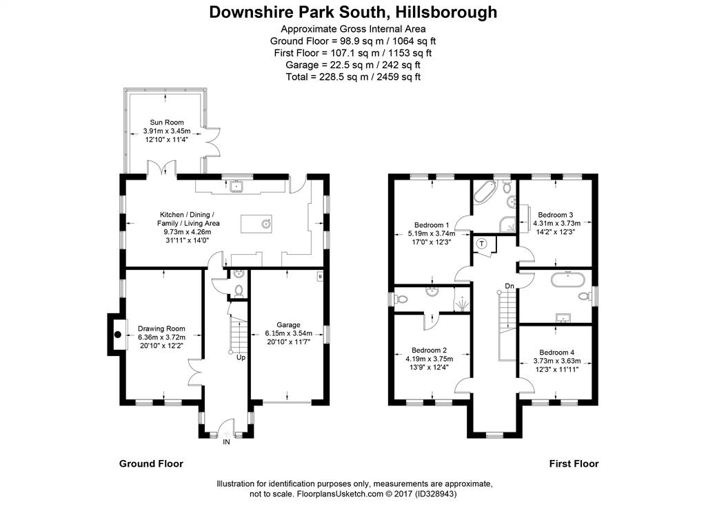 8 Downshire Park South